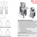 RO 125H NW50 Funnel Type Drain